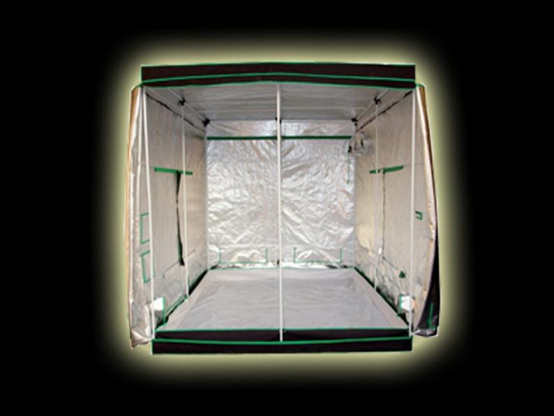 Large 2 X 600w Led Grow Tent Kit