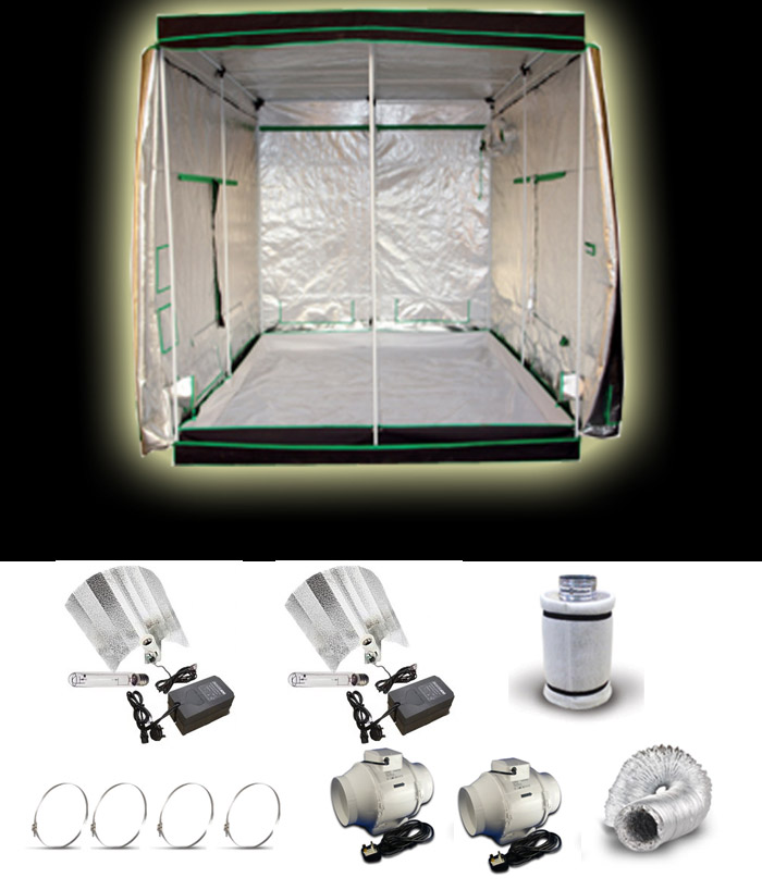 Extra-Large-Grow-Tent-Package & Large Grow Tent Kits Full Soil or Coco Grow Kit
