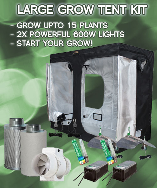 large-grow-tent-kit & Large Grow Tent Kits Full Soil or Coco Grow Kit