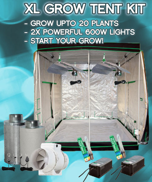 xl-grow-tent-kit & Extra Large Hydroponic Grow Tent Kit - Free UK Delivery
