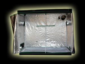 Large 2 x 600w Led Grow Tent kit