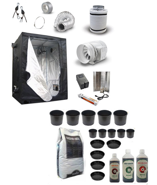 complete-soil-grow-tent-kit  sc 1 st  Grow Genius & Soil Grow Kits - Complete Soil Growing Package with Tent Kit
