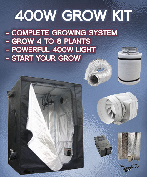 400w-grow-tent-kit & 4-8 Plant Grow Tent Kit - Small Indoor 400w Growing Kits
