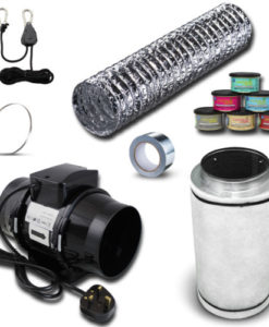 Carbon Filter & Extractor Fan Kit