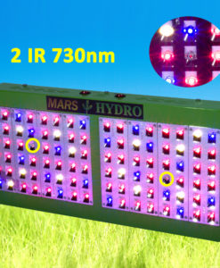 MarsHydro Reflector 96 LED Grow Light Lamp Full Spectrum Veg Bloom Lamp For Indoor Medicinal Plants