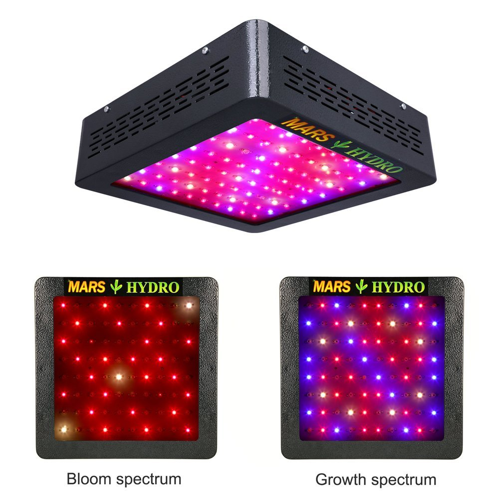 400w Mars Hydro 2 Led Grow Light With Grow And Bloom Switches