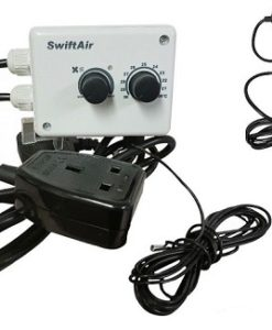 Hydroponic Fan Speed And Temperature Controller