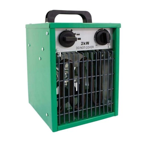 Electric Heater 1kw 2kw Modes For Grow Tents